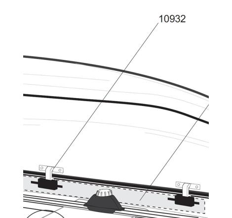 Låskrok för Thule takboxar