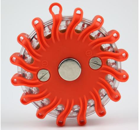 Varningspuck LED. Uppladdningsbar med kraftig magnet. Kampanj!