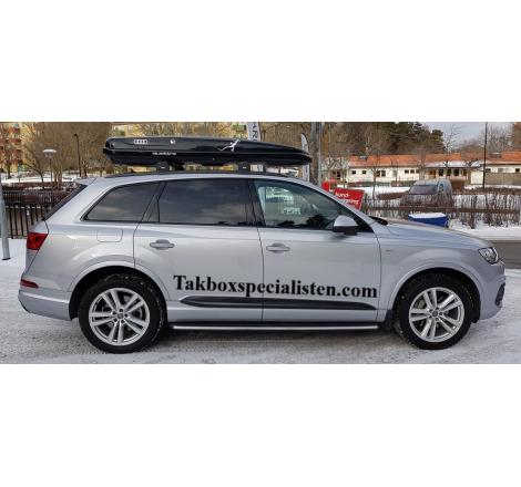 """Takbox Hapro Nordic """"Audi Quattro Edition"""" på Audi Q7"""