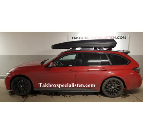 Packline F Sport Svart matt på BMW 3 Serie Touring