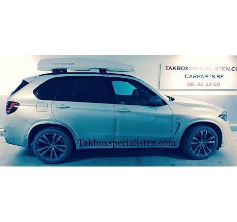 Takbox Packline FX-SUV 2.0 Vit högblank på BMW X5
