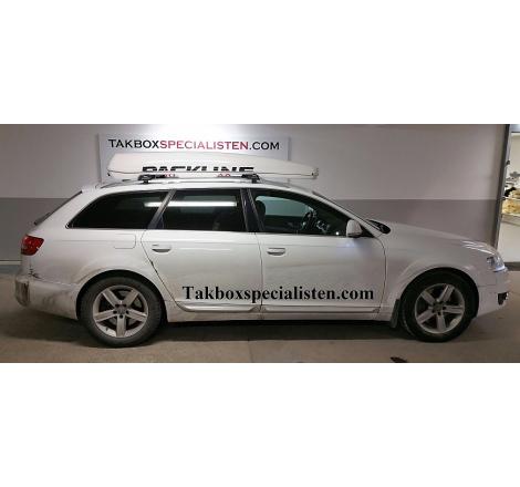 """Takbox Packline FX-SUV 2.0 Vit """"Glow Edition"""" på Audi A6 Allroad"""