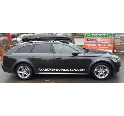 Takbox Packline FX-SUV 2.0 Svart högblank på Audi A6 Allroad