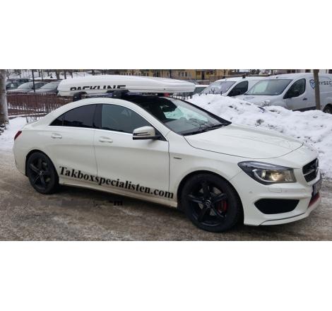 "Takbox Packline FX-SUV 2.0 Vit ""Glow Edition"" på Mercedes Benz CLA"
