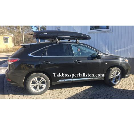 Takbox Thule Dynamic L900 Svart på Lexus RX