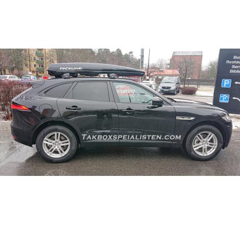 Takbox Packline FX-SUV 2.0 Svart högblank på Jaguar F-Pace
